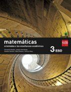 matemáticas b 3º eso savia orientadas a las ensenanzas academicas 9788467576221