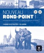 nouveau rond-point 1 (a1-a2) cahier d activites (+cd audio)-catherine flumian-josiane labascoule-9788484436621