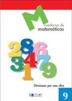 cuaderno de matematicas, nº 9 9788489655621