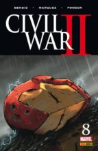 civil war ii 8-brian michael bendis-david marquez-9788490949221