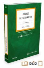 civitas: codigo de extranjeria (19ª ed.)-pablo gonzalez saquero-9788490994221