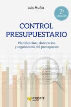 control presupuestario (ebook) lluis muñiz 9788492956821