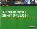 sistemas de sonidos: diseño y optimizacion-bob mccarthy-9788493626921