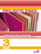 llengua catalana i literatura 3 eso. projecte eines  3eso 9788498047721