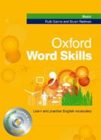 oxford word skills basic. learn and practise english vocabulary with cd rom r gairns s. redman 9780194620031