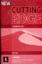 new cutting edge: workbook with key (elementary)-sarah cunningham-frances eales-peter moor-9780582825031