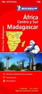 africa centro sur, madagascar 2012 (1:4000000) (ref. 746) (mapa n ational) 9782067172531