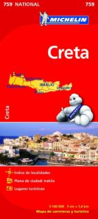 creta 2012 (ref. 759) (mapas national) 9782067173231