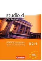 studio d b2/1 sprachtraining rita maria niemann nelli pasemann 9783060206131