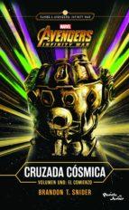 infinity war. cruzada cósmica. el comienzo (ebook)-brandon t. snider-9786070753831