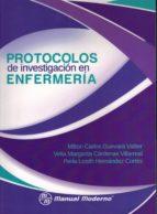 protocolos de investigacion en enfermeria milton carlos guevara valtier 9786074486131