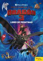 como entrenar a tu dragon 3 (libro de pegatinas)-9788408201731