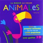 la magia del color: animales-9788415430131