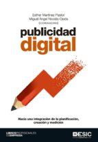 publicidad digital esther (coord.) martinez pastor miguel angel (coord) nicolas ojeda 9788416701131