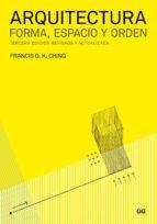 arquitectura. forma, espacio y orden (ebook) francis d. k. ching 9788425225031