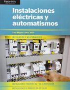 instalaciones electricas y automatismos luis miguel cerda filiu 9788428398831