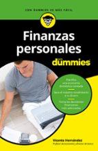finanzas personales para dummies-vicente hernandez reche-9788432903731