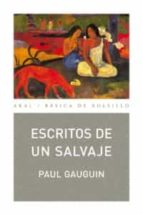 escritos de un salvaje paul gauguin 9788446029731