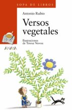 versos vegetales antonio rubio 9788466706131
