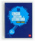 cuaderno  de lengua castellana y literatura 2º eso aprende y aprueba 2012-9788467549331