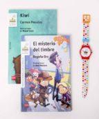 pack tiempo para leer blanca (contiene: kiwi y el misterio del timbre + reloj)-carmen posadas-begoña oro-9788467583731