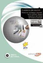 cuaderno del alumno. prevencion de riesgos laborales. sector sani tario: riesgos especificos del trabajo de protesicos dentales-9788468109831