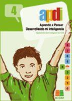 apdi 4: aprendo a pensar desarrollando mi inteligencia (4º educac ion primaria) 9788472781931