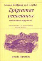 epigramas venecianos-johann wolfgang von goethe-9788475179131