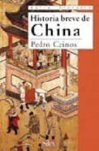 historia breve de china-pedro ceinos arcones-9788477371731