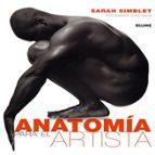 anatomia para el artista sarah simblet 9788480769631