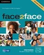 face2face for spanish speakers student s book with dvd-rom and ha ndbook with audio cd (2nd edition) (level intermediate)-chris redston-gillie cunningham-9788483232231