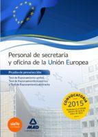 personal de secretaría y oficina de la unión europea. prueba de preselección: test de razonamiento verbal, test de razonamiento-9788490932131