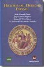 historia del derecho español 9788492948031