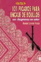 101 picados para encaje de bolillos: con diagramas en color-robin lewis-wild-9788496550131
