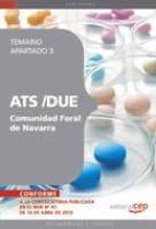 ATS /DUE COMUNIDAD FORAL DE NAVARRA. TEMARIO APARTADO 3