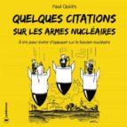 quelques citations sur les armes nucléaires (ebook)-paul quiles-9791023607031
