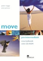 move: pre intermediate coursebook (incluye cd rom) peter maggs jenny quintana 9781405086141