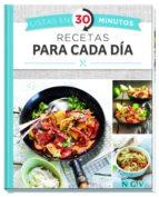 recetas para cada día (listas en 30 minutos)-9783625006541