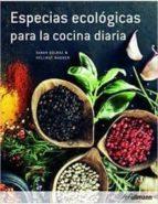 especias ecologicas para cocina diaria saraz golbaz helmut wagner 9783848009541