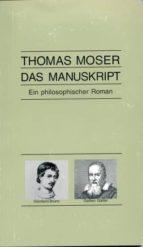 das manuskript (ebook)-thomas moser-9783952393741