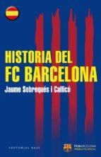 historia del fc barcelona-jaume sobreques i callico-9788415706441