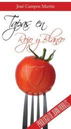 tapas en rojo y blanco jose campos martin 9788415761341