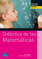 didactica de las matematicas para primaria mª del carmen chamorro 9788420534541