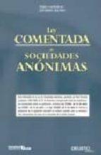 ley comentada de sociedades anonimas-jose manuel diaz-arias-9788423426041
