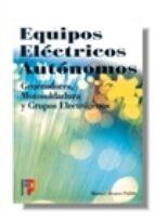 equipos electricos autonomos-manuel alvarez pulido-9788428325141