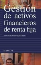 gestion de activos financieros de renta fija juan mascareñas perez iñigo 9788436816341