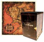 estuche tolkien 6 volumenes + mapa de la tierra media (edicion lu jo) (la comunidad del anillo /las dos torres /el retorno del rey/el hobbit /el silmarillion /los hijos de hurin)-j.r.r. tolkien-9788445077641