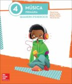 música 4º educacion primaria quadern d´exercicis - ed.2015-merce cano i nogue-9788448195441