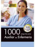 1000 preguntas para auxiliar de enfermería-9788468160641