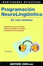programacion neurolingüistica en una semana philippe turchet 9788480889841